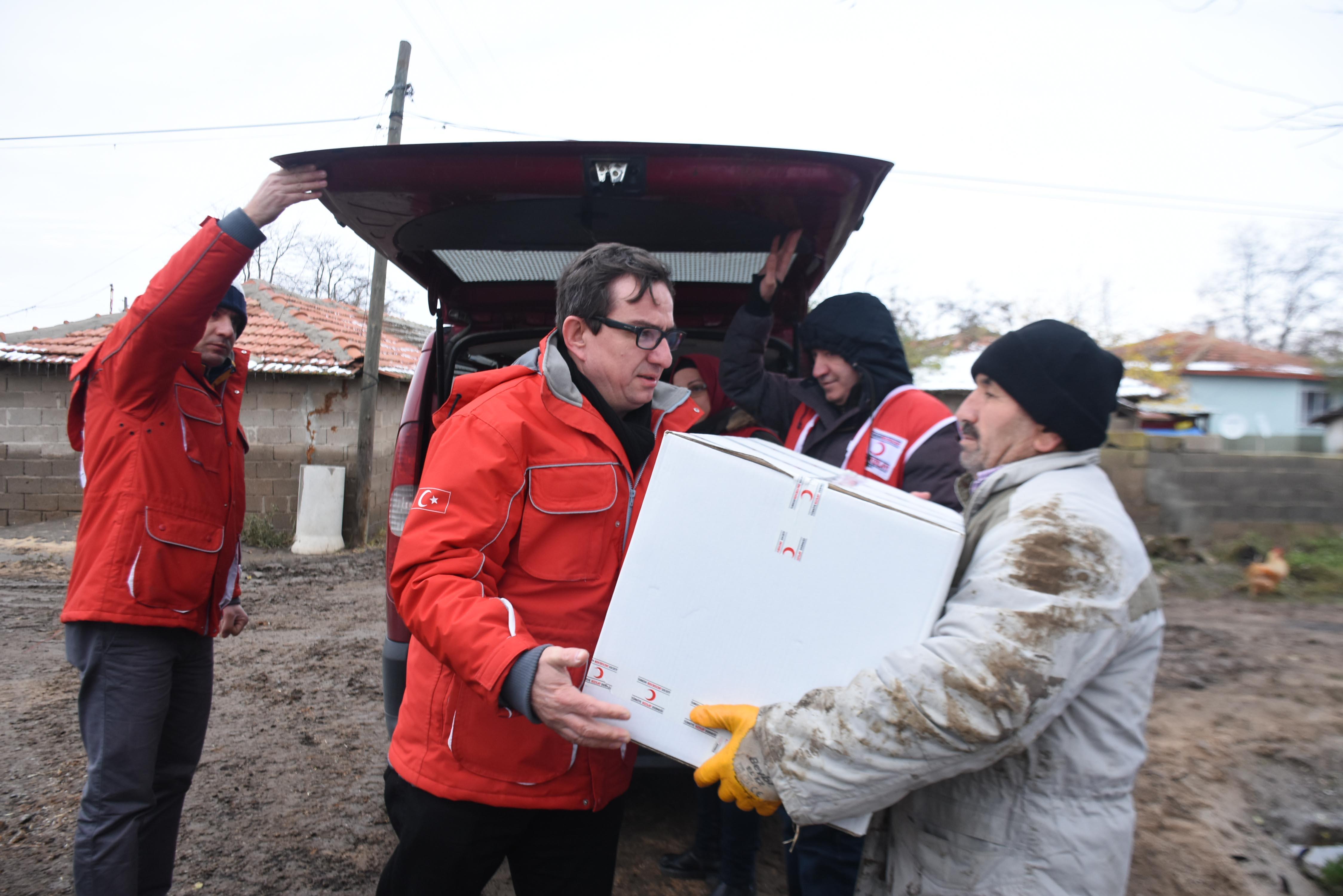 Edirne'de selin etkisi geçti, temizlik başladı