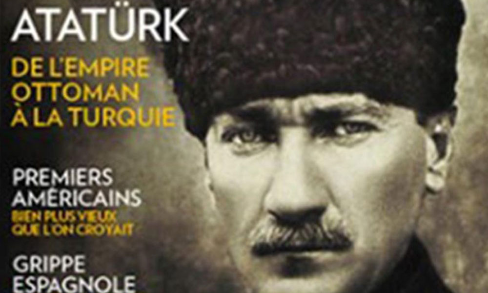Atatürk Fransız tarih dergisinin kapağında