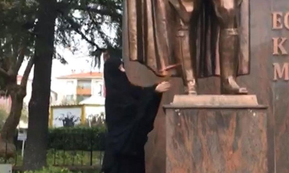 Atatürk Anıtı'na baltayla saldırı olayında yeni gelişme