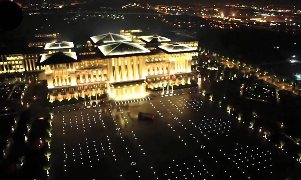 Saray 1300 konutun elektriğini tüketiyor