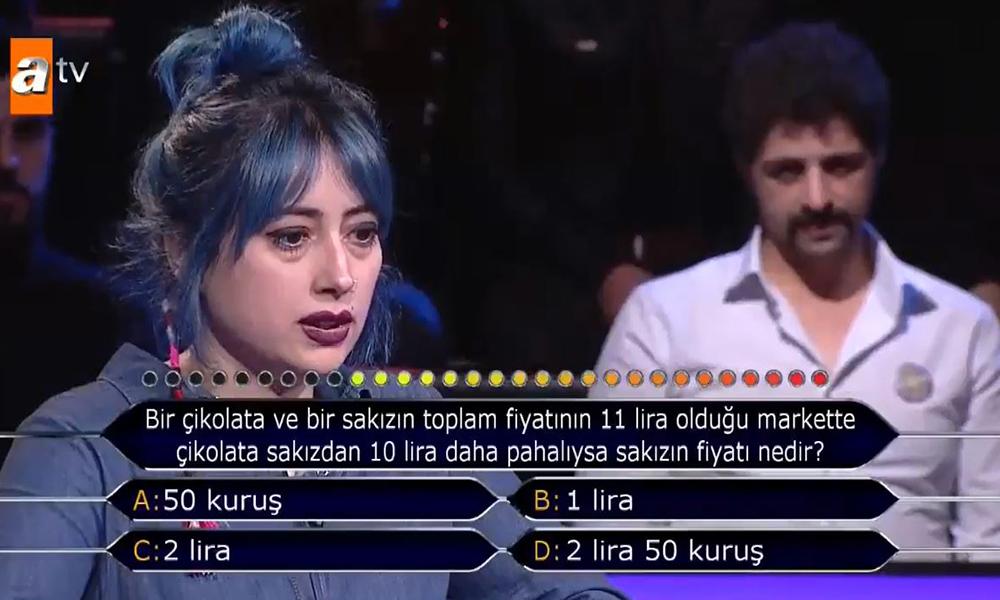 Bilgi yarışmasında şaşırtan cevap