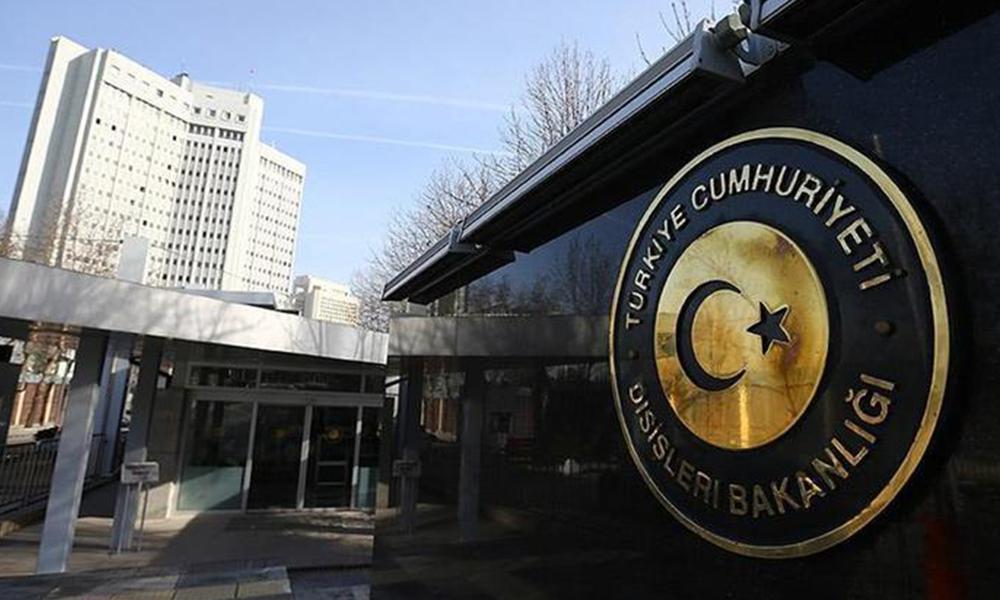 Dışişleri Bakanlığı'ndan Avrupa Parlamentosu'na 'Barış Pınarı Harekatı' tepkisi