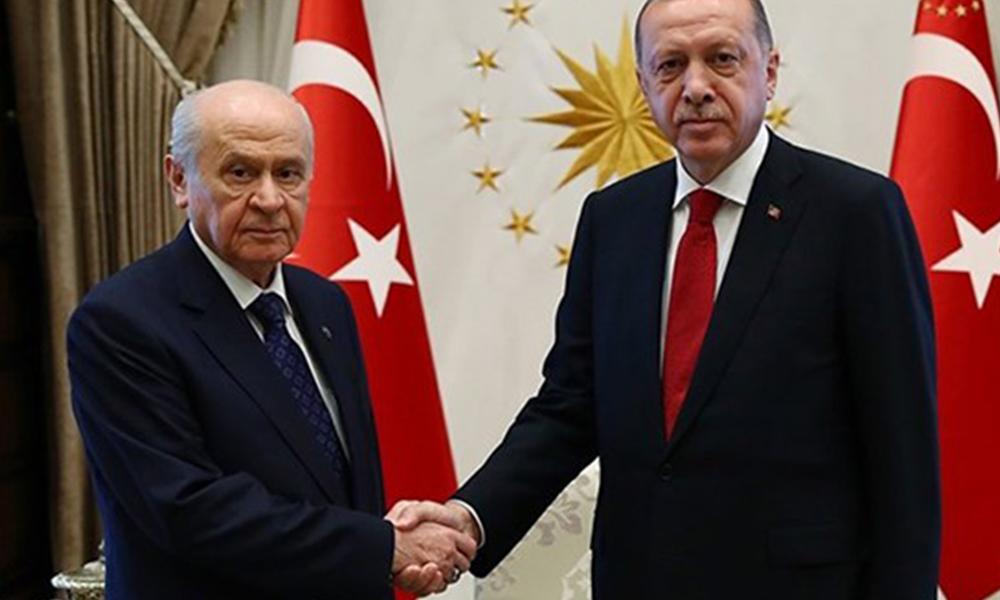 Erdoğan-Bahçeli görüşmesinin detayları sızdı! İşte konuşulan 8 konu