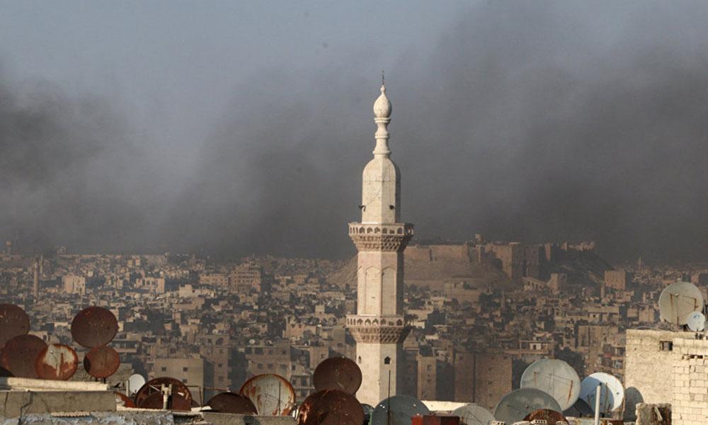 Rusya: Halep'e kimyasal saldırı yapıldı