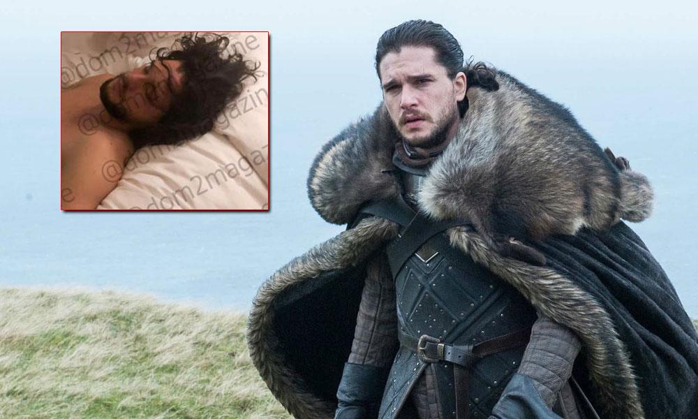 Jon Snow'un eşini aldattığı görüntüler internete sızdırıldı