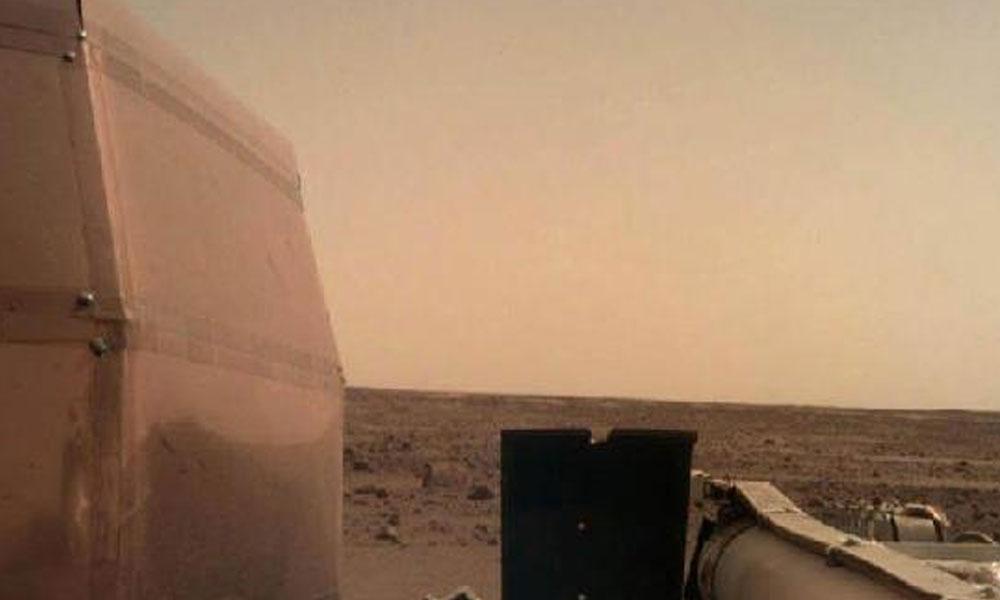 İşte Mars'tan ilk fotoğraf…