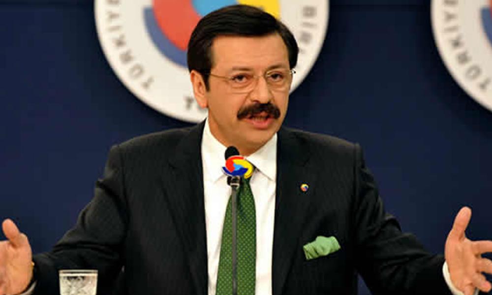 TOBB Başkanı Hisarcıklıoğlu: Önerilerimizi hükümete ilettik, bu teker bu tümsekte kalmaz