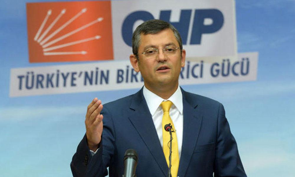 CHP'li Özel: Önümüzde ciddi bir fırsat duruyor