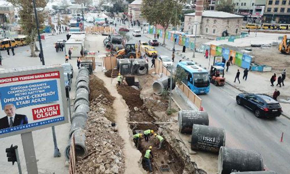 Üsküdar'da tarihi kalıntıların üzerine beton döküldü