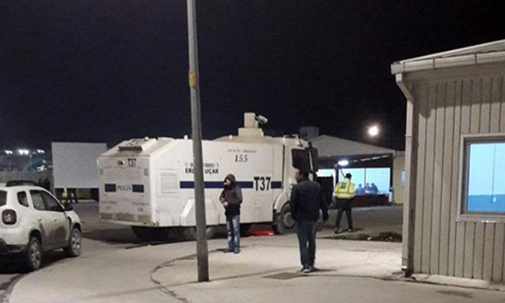 Erdoğan'ın 'Zafer Anıtı'nda gece karanlığında işçi kıyımı