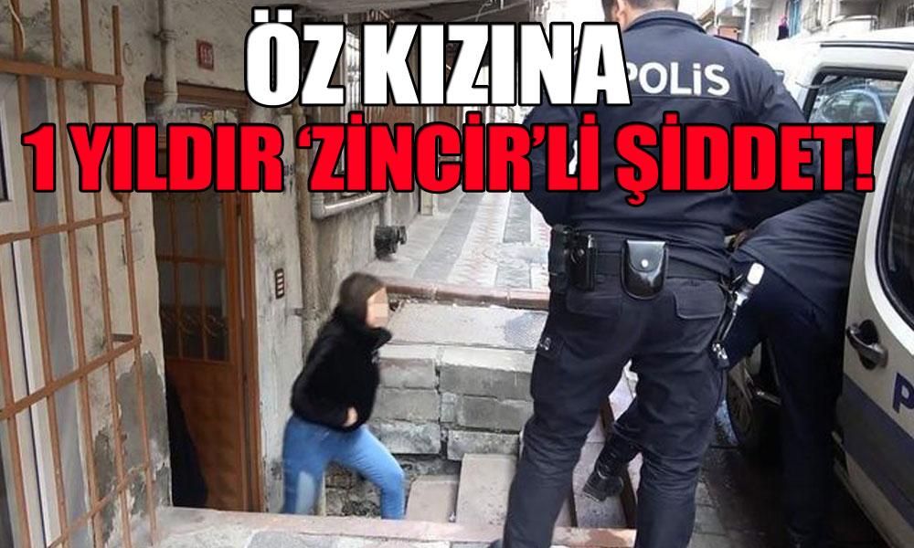İstanbul'da bir dram… Kızı 'dışarı çıkmasın' diye 1 yıl çamaşır makinesine zincirledi!