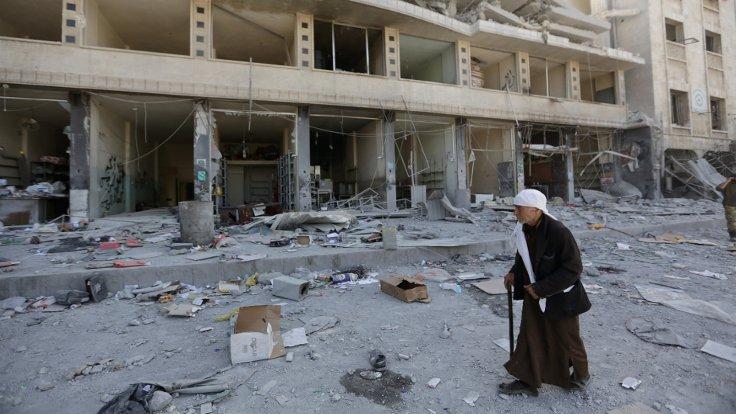 Afrin'de halk pazarına bombalı saldırı
