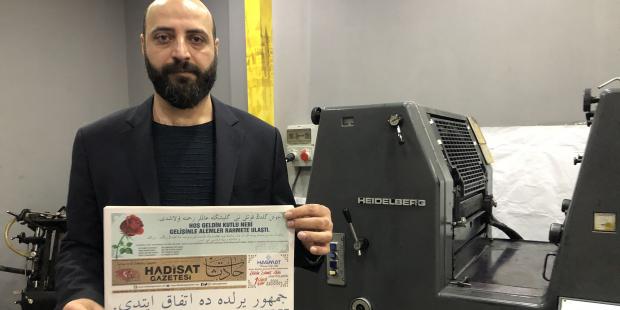Osmanlıca gazete çıkıyor