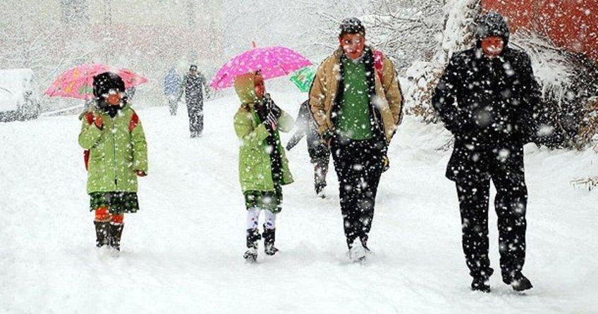 11 ilde eğitime kar tatili