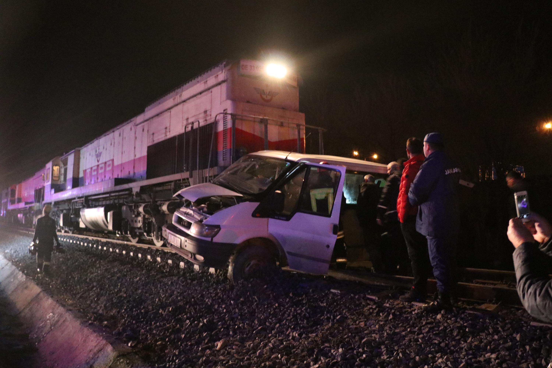 Denizli'de tren kazası: 5 yaralı