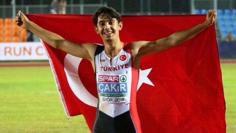 Milli atlet Batuhan Çakır'dan Türkiye rekoru