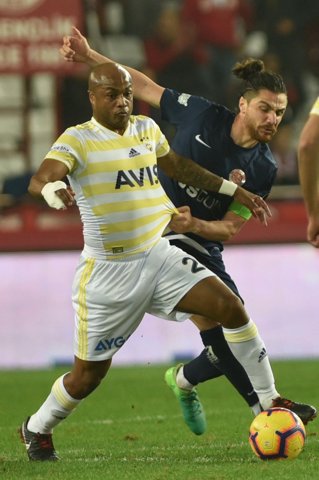 Antalyaspor – Fenerbahçe: 0-0