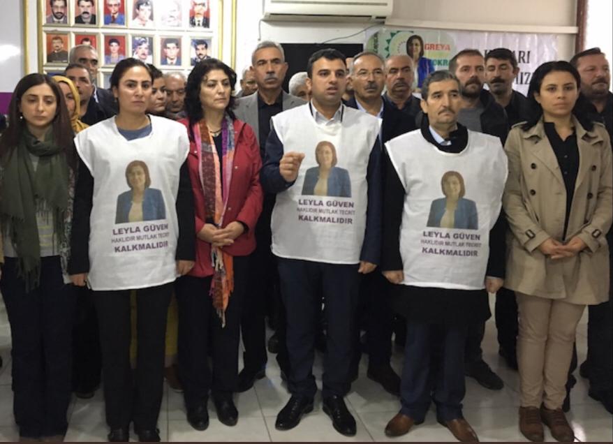 HDP milletvekillerinden üç günlük açlık grevi