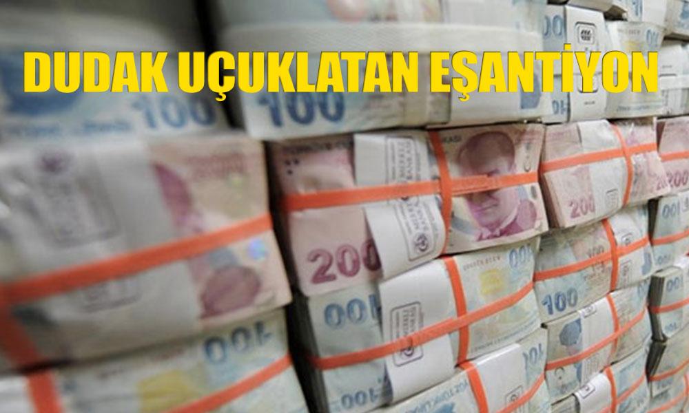 AKP'li belediyenin eşantiyon bütçesi: 10 milyon 338 bin lira