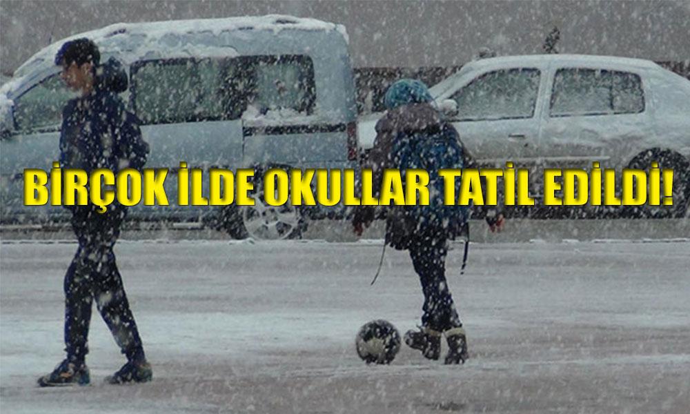 Türkiye 'kar'a teslim!