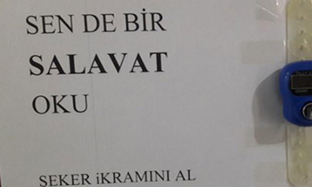 AKP döneminde bu da oldu: Ortaokul ve liselerde zikirmatikle salavat zinciri