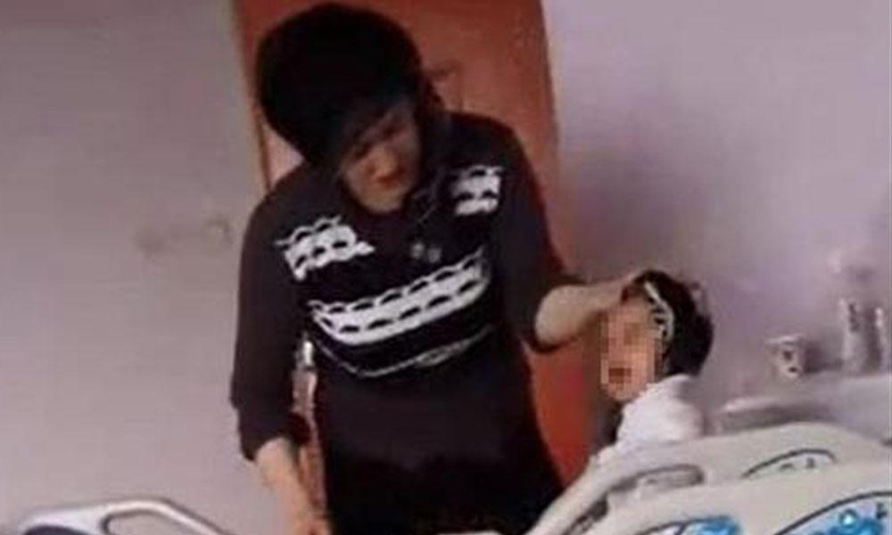 7 aylık bebeği ağladığı için dövdü