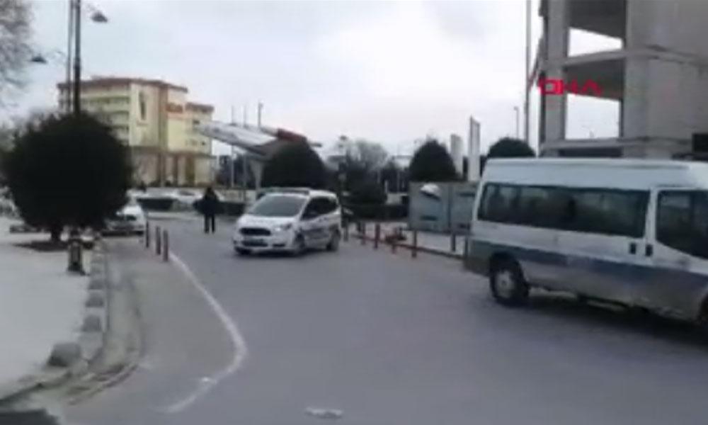 İstanbul'da adliyede bomba ihbarı! Bina boşaltıldı!