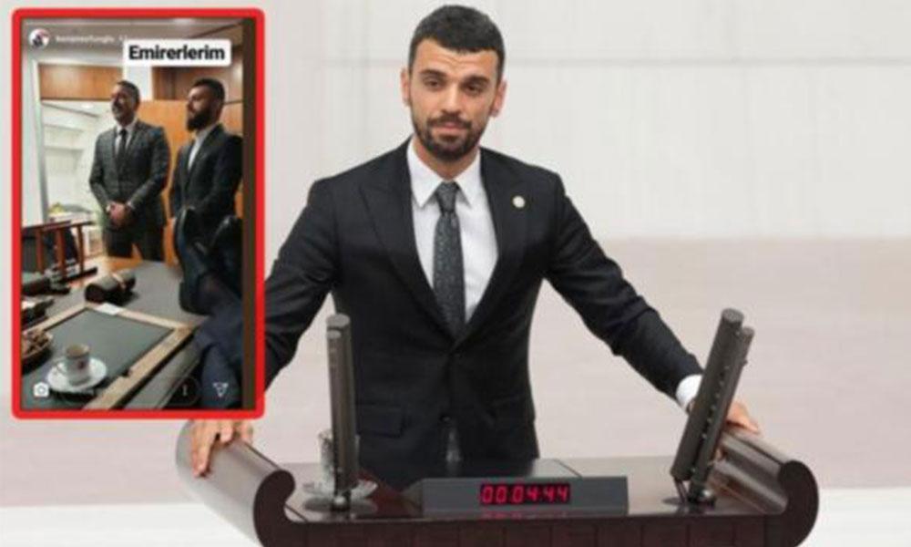 AKP'li 'senatör' Sofuoğlu'na Meclis emekçilerinden tepki