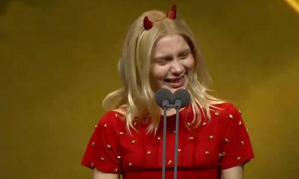 Aleyna Tilki gözyaşlarına hakim olamadı