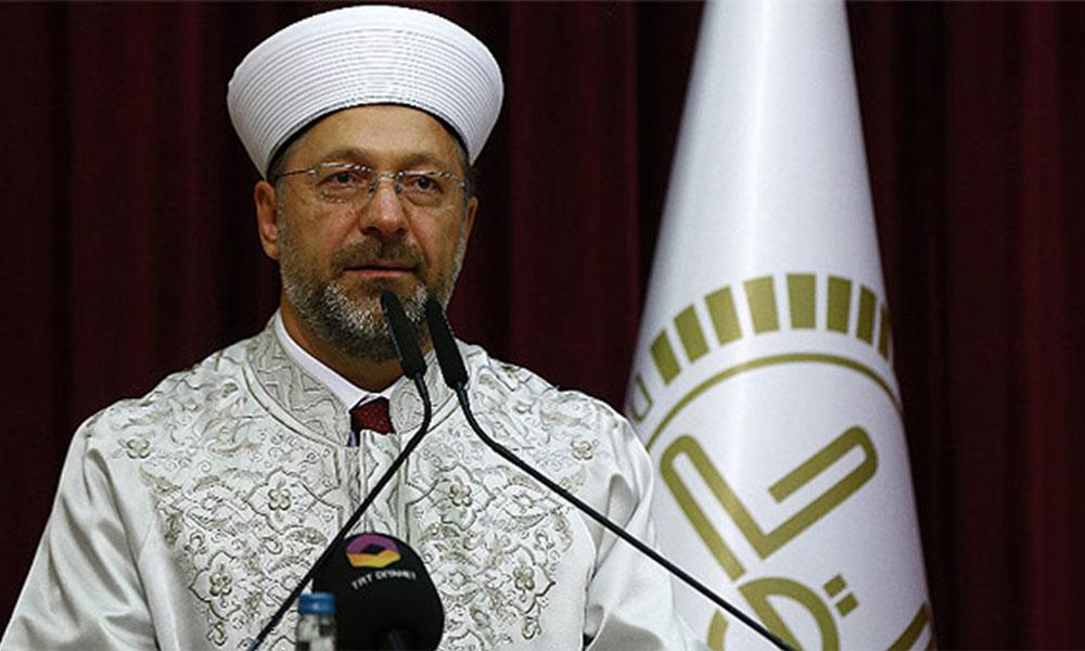 Diyanet İşleri Başkanı Ali Erbaş: Fahrettin Koca'ya isimler verdim