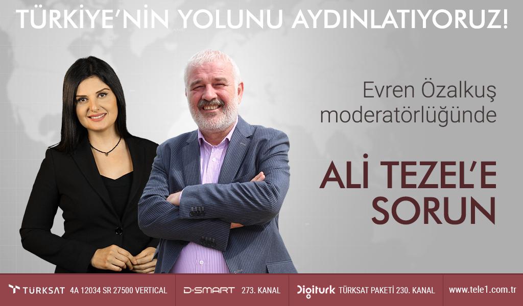 Ali Tezel'e Sorun – (18 Aralık 2018) Ali Tezel & Evren Özalkuş