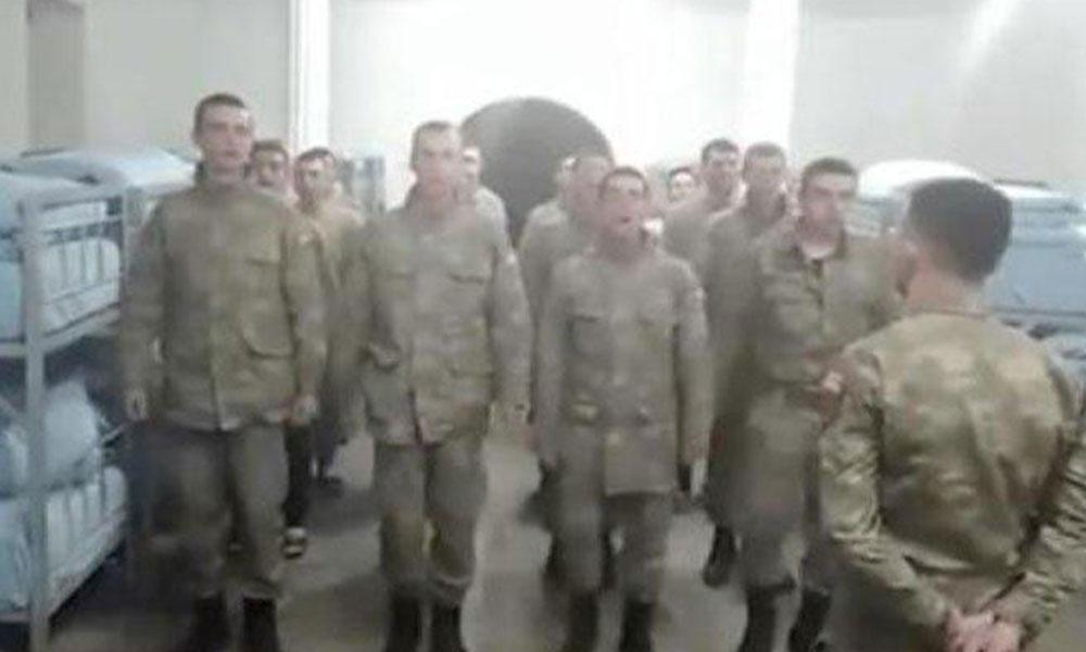 Bakanlıktan asker koğuşundaki görüntüye soruşturma