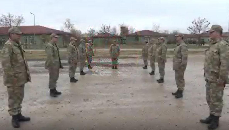 İşte bedelli askerlik yapanların eğitim görüntüleri!