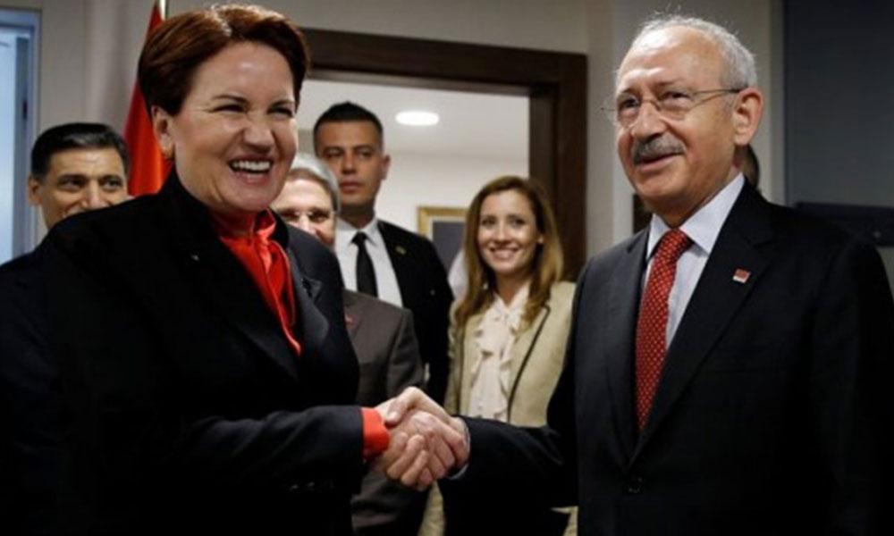 CHP'nin Ankara ve İzmir'de İyi Parti'ye bıraktığı ilçeler belli oldu