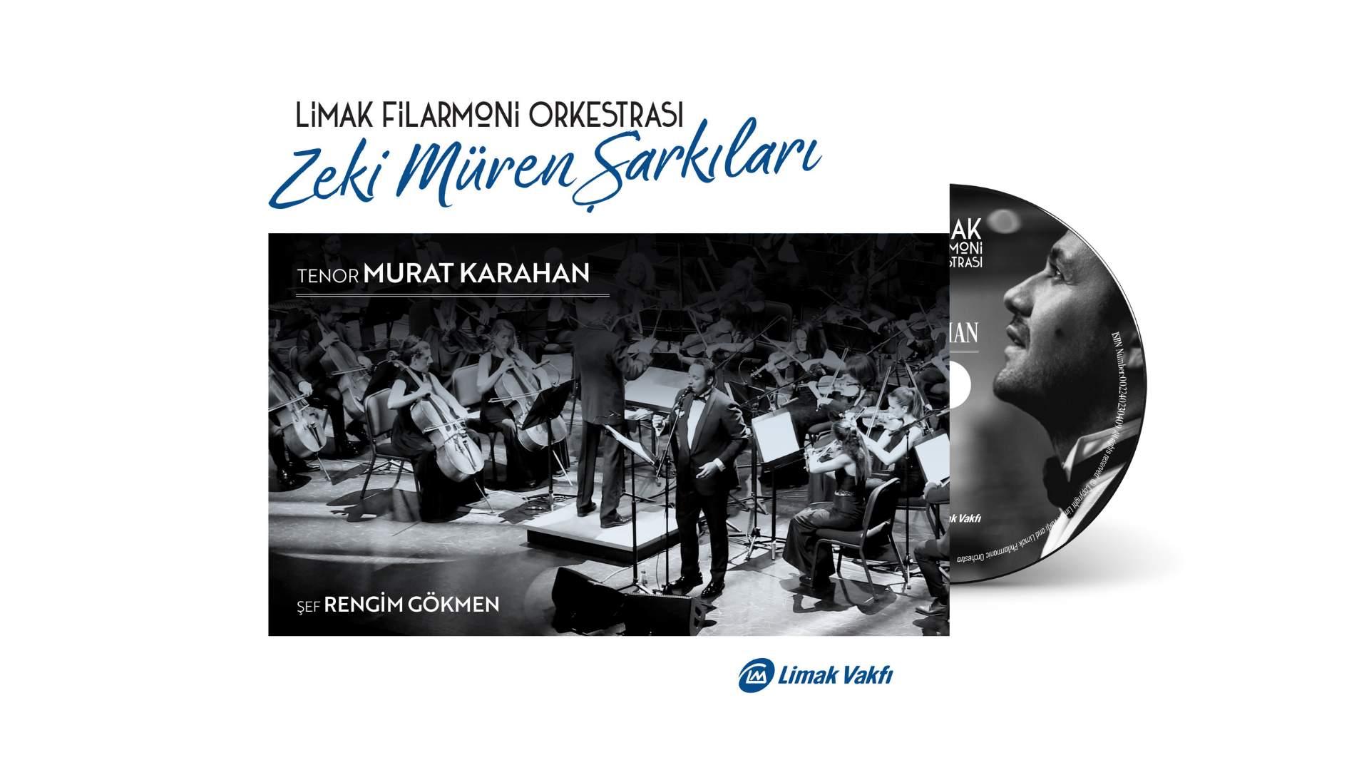 """Limak Filarmoni Orkestrası'ndan """"Zeki Müren Şarkıları"""" albümü"""