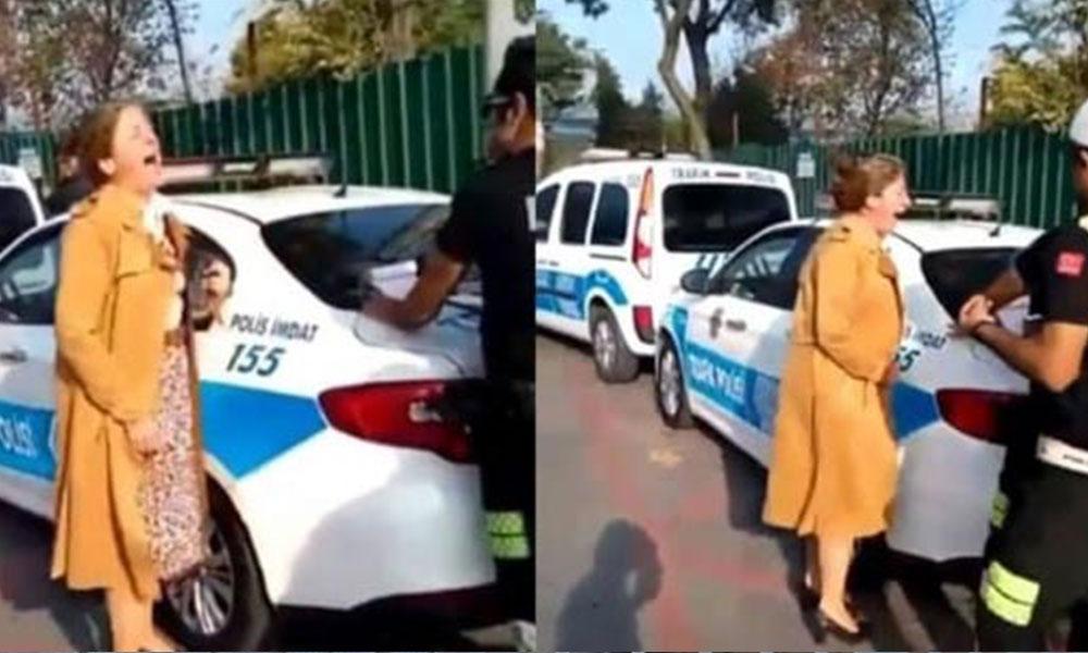 AKP'li meclis üyesinden polise: Bu kadını odunla dövün