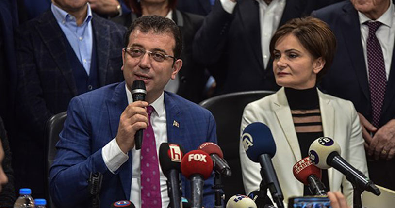 CHP'nin İstanbul adayı İmamoğlu: 1 Nisan itibarıyla…