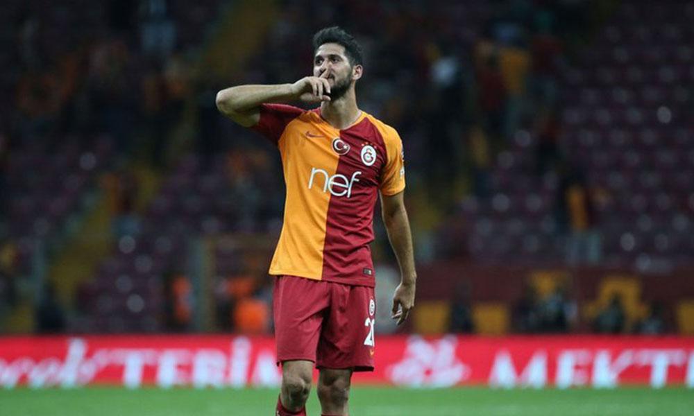 Galatasaray'da Emre Akbaba, iki ay daha yok