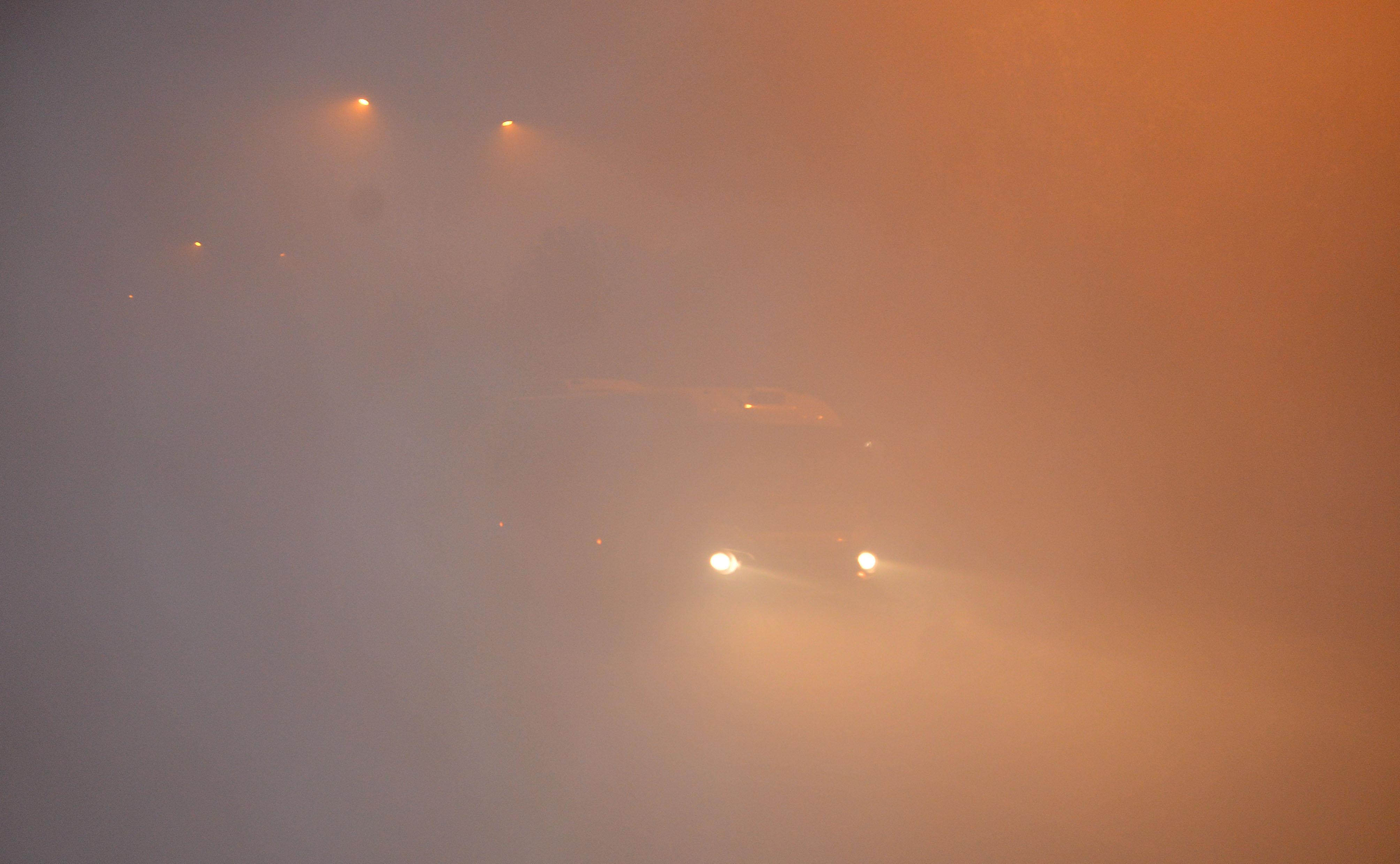 Adana'da uçak seferlerine 'sis' engeli