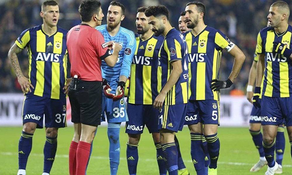 Fenerbahçe-Kasımpaşa maçının hakem raporu ortaya çıktı: Kural hatası iddiası