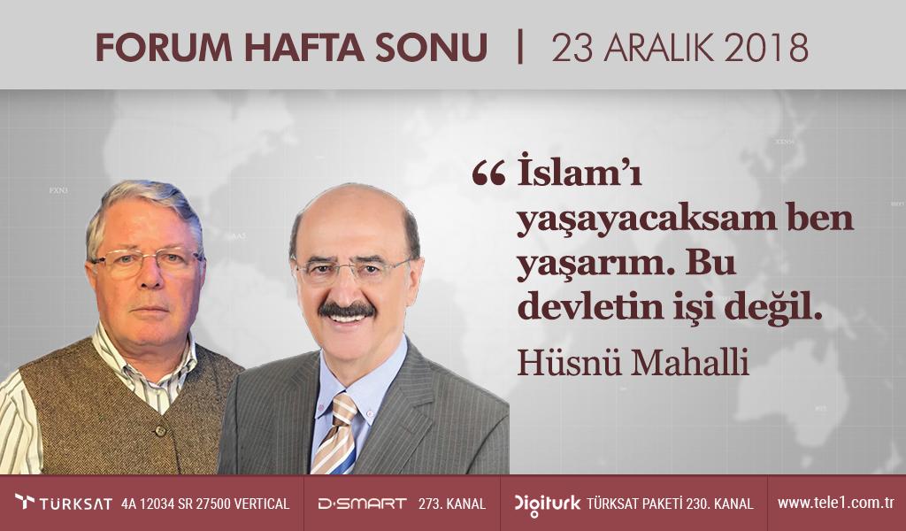 """""""İslam'ı yaşayacaksam ben yaşarım. Bu devletin işi değil"""""""