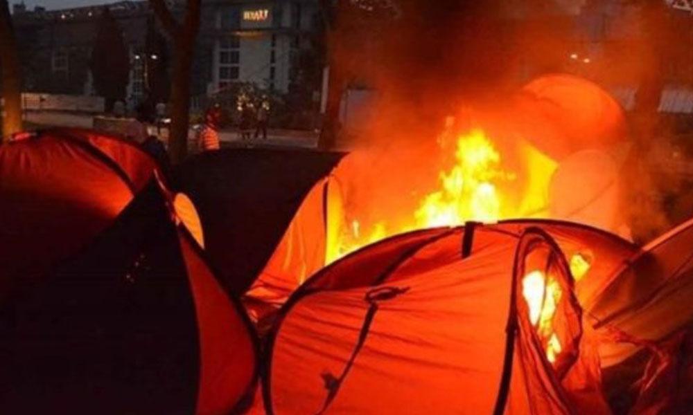Gezi'de çadırları yakma emri veren polis, Adil Öksüz'ün arkadaşı çıktı!