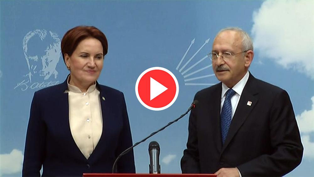 Kılıçdaroğlu ve Akşener'den ilk açıklama
