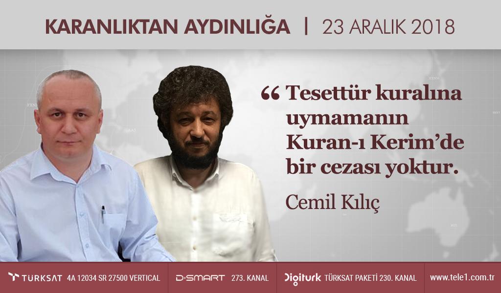 """""""Tesettür kuralına uymamanın Kuran'da bir cezası yoktur"""""""