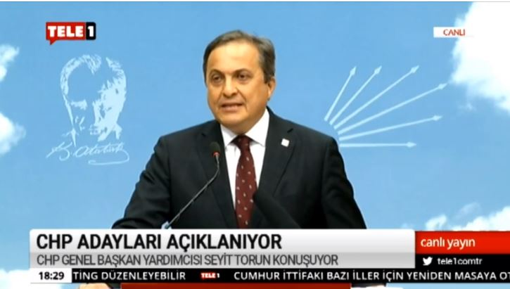 CHP Genel Başkan Yardımcısı Seyit Torun tüm adayları açıkladı