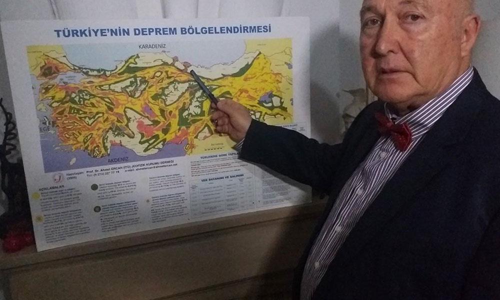 Prof. Dr. Ahmet Ercan: Marmara'da kaçınılmaz 3 deprem bekleniyor