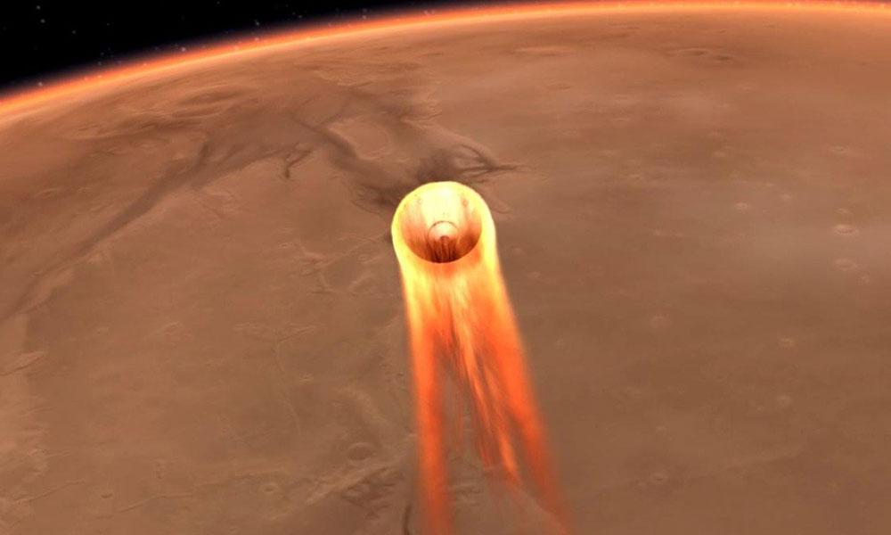 InSight, Mars'tan Elysium Düzlüğü'nün videosunu gönderdi