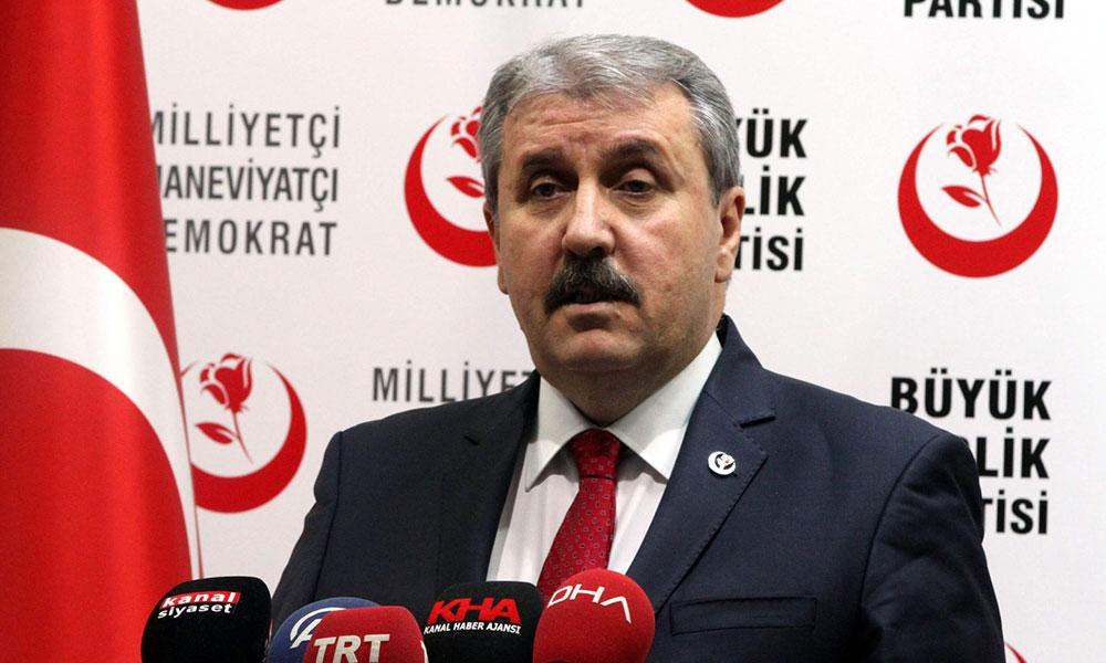 Mustafa Destici: Seçim barajı sıfır olmalı