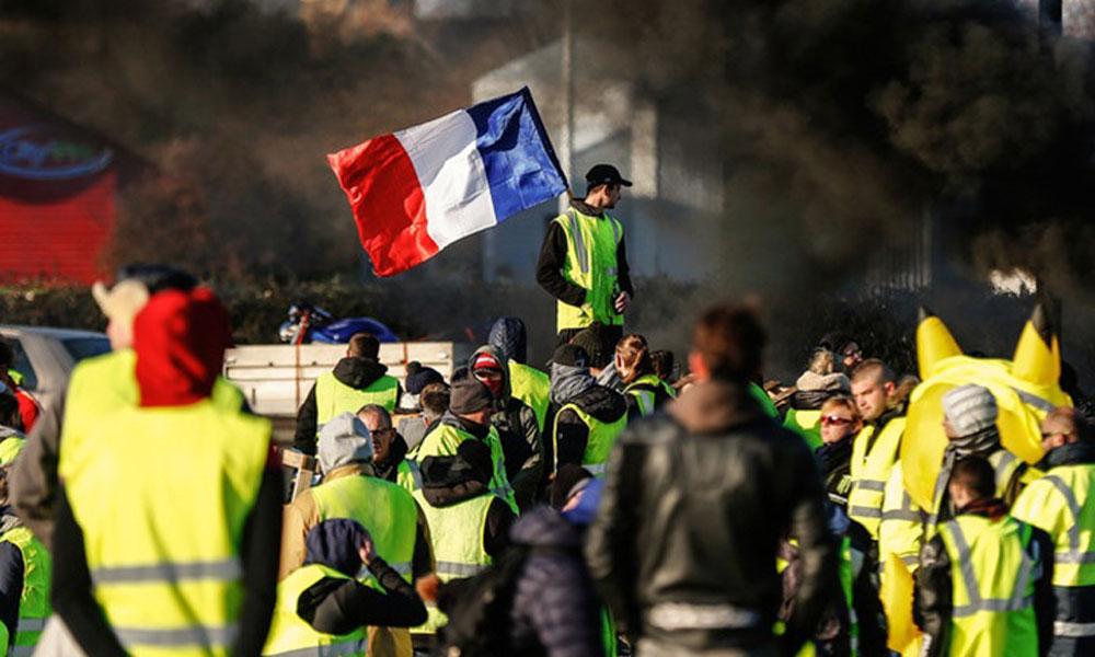 Paris'te polis müdahalesi: Gözaltılar var
