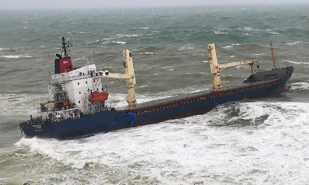 Şile'de can pazarı: Gemidekileri kurtarma operasyonu